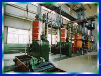 Cooking Oil Pretreatment & Press Plant
