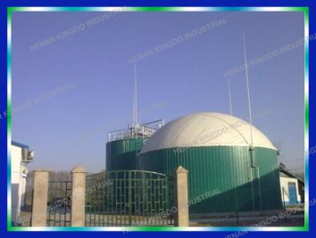 China Biogas Production Plant, Biogas Digester Machine