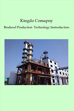 Kingdo Comapny Biodiesel Production Technology Introduction