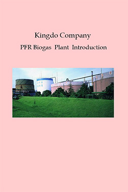 Kingdo Company PFR Biogas Plant Introduction