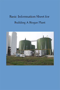 Basic information sheet for building a biogas plant