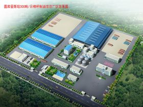 300TPD Cotton Seed Oil Mill Project